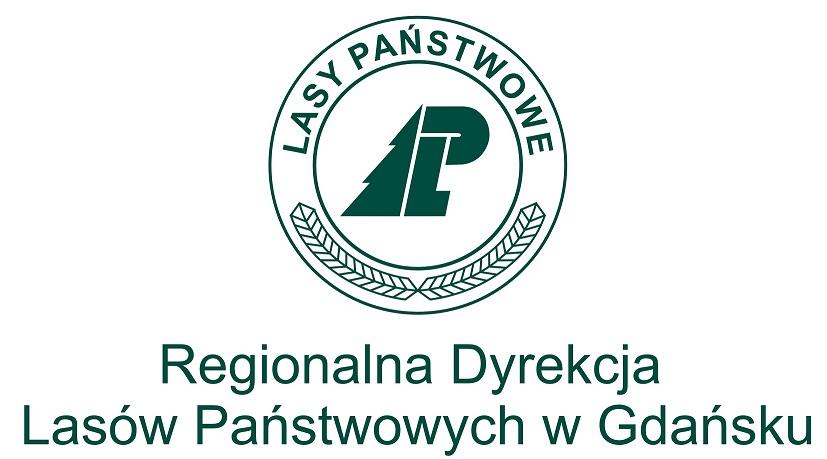Logo RDLP w Gdańsku wersja pionowa 2